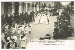 """""""Lebbeke - Luisterrijke Jubelfeesten - De Processie - Groep Der H. Kindsheid"""" - Lebbeke"""