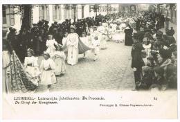 """""""Lebbeke - Luisterrijke Jubelfeesten - De Processie - De Groep Der Koniginnen"""" - Lebbeke"""