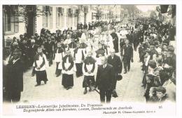 """Lebbeke - Luisterrijke Jubelfeesten - De Processie - De Gemijterde Abten Van Bornhem, Leuven, Dendermonde"" - Lebbeke"
