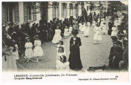 """Lebbeke - Luisterrijke Jubelfeesten - De Processie - Groep Der Maagdekeersen"" - Lebbeke"