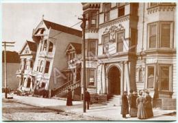 San Francisco (États-Unis) - Wells Fargo Muséum - Dégâts Du Tremblement De Terre (18-04-1906) (Recto-Verso) - San Francisco