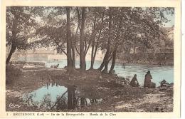 BRETENOUX Ile De La Bourgnatelle Bords De La Cère  - écrite TTB - Bretenoux