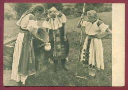 132234 / Slovensky Folklor - Girls From MORAVSKEJ LIESKOVEJ - COSTUME - F / 17 - Slovenia Slowenien Slovenie - Dogana
