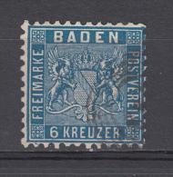 1862   MICHEL  Nº  14 - Bade