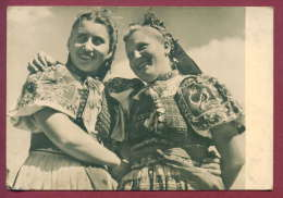 132236 / Slovensky Folklor - Girls From TRENCIANSKEJ TEPLEJ- COSTUME - F / 24 - Slovenia Slowenien Slovenie - Dogana