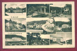 132249 / NATIONAL COSTUME - LAZNE LUHACOVICE - VIEW - X  Czech Republic  Czechoslovakia Tchecoslovaquie - Douane