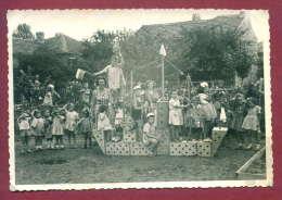 132030 / REAL PHOTO - TOY  WOOD SHIP CHILDREN  Kindergarten - Bulgaria Bulgarie Bulgarien Bulgarije - Jeux Et Jouets