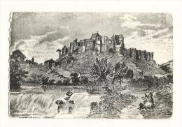cp, 79, Argenton-Ch�teau, Ruines du Ch�teau de Philippe de Commines, d'apr�s une gravure ancienne