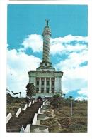 Cp, République Dominicaine, Santiago, Vista Del Monumento A Los Heroes De A Restauracion, Voyagée - Dominicaine (République)
