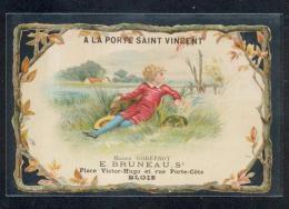 41 - BLOIS  : Très Beau Chromo Publicitaire : A LA PORTE SAINT VINCENT; - Blois