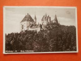 27614 PC: GERMANY:  Warburg I. W.  - Burg Calenberg. - Germany