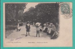 """PARIS """"Vécu"""" --> Enfants Au Jardin - Parcs, Jardins"""