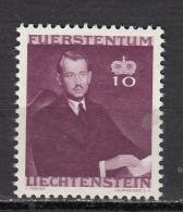 LIECHTENSTEIN *  YT N° 186 - 1940-1944 German Occupation