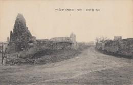 CPA - Vrégny - Grande Rue ( 1920 ) - Autres Communes