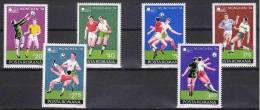 Romania 1974. Football / Soccer World Championship Set MNH (**) Michel: 3203-3208 / 3.20 EUR - Coppa Del Mondo
