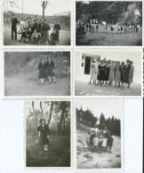 39Gm     Lot De 6 Photos Scouts Scoutisme - Padvinderij