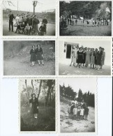 39Gm     Lot De 6 Photos Scouts Scoutisme - Scouting