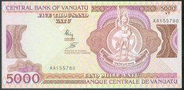 Vanuatu 5000 Vatu N.d. Pick 4a UNC - Vanuatu