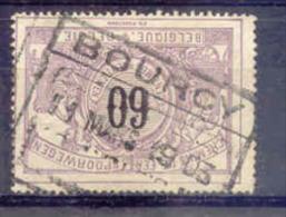 F458 -België  Spoorweg Chemin De Fer  Met Stempel BOURCY - Chemins De Fer