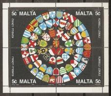 BANDERAS - MALTA 1993 - Yvert #H13 - MNH ** - Otros