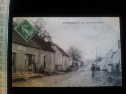 CPA D21 Etevaux Route De Dijon - Other Municipalities