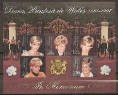 FAMILIAS REALES - MOLDAVIA 1998 - Yvert #240/44 - MNH ** - Familias Reales