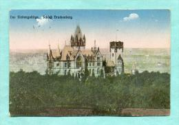 CPA  ALLEMAGNE  -  KOENIGSWINTER  -  116  Das Siebengebirge, Schloß Drachenberg - Koenigswinter