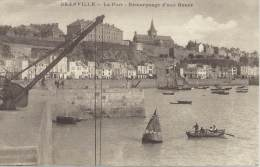 Granville Le Port Remorquage D' Une Bouee Carte Animée Serrand Phot - Granville