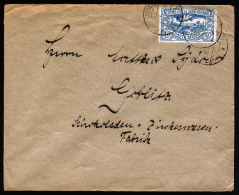 A2237) Oberschlesien Brief Von Zembowitz 31.12.1921 - Coordination Sectors