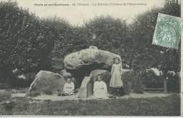 Meudon Le Dolmen Terrasse De L' Observatoire 69 Paris Et Ses Environs Carte Animée Enfants - Meudon