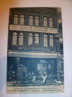 DUNKERQUE HOTEL DE STRASBOURG , 6 PLACE DE LA GARE  WORM-DUMONT , PROPRIETAIRE PHOTO COMBIER MACON - Dunkerque