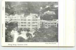HONG KONG  - German Club. - China (Hong Kong)