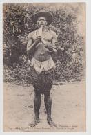 CPA - CONGO - BRAZZAVILLE (congo Français) / Type De La Sangha / Circulé En 1909 - Pipe - Französisch-Kongo - Sonstige
