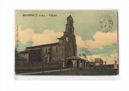 82 BESSENS (envs Grisolles) Eglise, Animée, Colorisée, Ed Veyre, 1916 *** ETAT *** - France