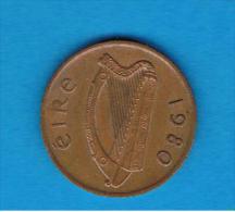 IRLANDA - IRELAND -   1 Penny 1980 - Irlanda