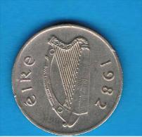 IRLANDA - IRELAND -   5 Pence 1982 - Irlanda