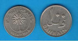 BAHRAIN -  100 Fils 1965 - Bahrein