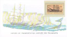 Histoire DesTransports U S POSTAGE 8c HISTORIC PRESERVATION - Bateaux