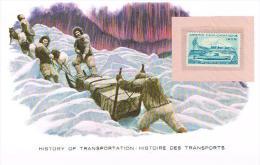 Histoire DesTransports U S POSTAGE 4c Artic Explorations - Transportmiddelen