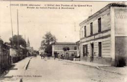 IZON - L' Hotel Des Postes Et La Grand' Rue  - Rte De St Pardon A Bordeaux   (60754) - Sonstige Gemeinden