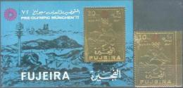 FUJ 1972 OLYMPIC GAMES MUNCHEN, FUJEIRA, 1v+S/S, Mint,** - Sommer 1972: München