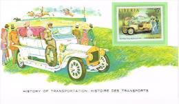 Histoire DesTransports LIBERIA 15c - Voitures