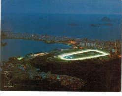 Amérique - Brésil - Rio De Janeiro - Vista Noturna - Lagoa Rodrigo De Freitas E Hipodromo De Gavea - Rio De Janeiro