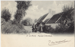 La Panne -De Panne  Paysage à Duinhoek - De Panne