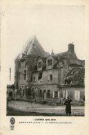 51.PERNANT.........GUER RE 1914/1918.....CPA.....VIL LAGE DETRUIT......LOT M406 - France