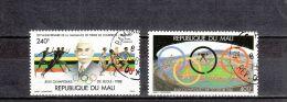 Mali YT PA 531/2 Obl : Séoul 88 , Coubertin - 1988 - Summer 1988: Seoul
