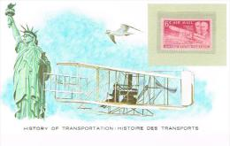 Histoire DesTransports Us Postage  6c - Avions
