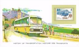 Histoire DesTransports Espana 4pta - Bus