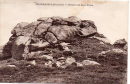Chalmazelles- Rochers De Chez-Faria - France