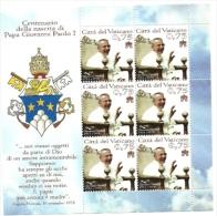 2012 - BF 75 Papa Giovanni Paolo I^ - Vaticano (Ciudad Del)